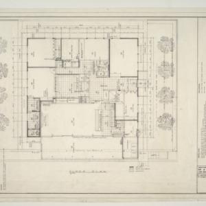 G. Milton Small Residence -- Floor Plan