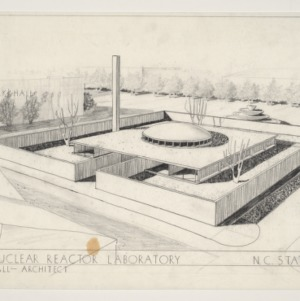 NCSU Nuclear Reactor Laboratory -- Rendering
