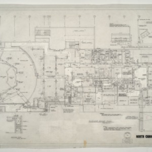 NCSU Student Center -- Basement Floor Plan