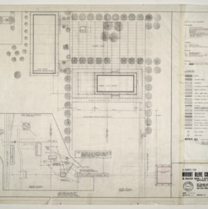 Chapel for Mount Olive College, NC -- Plot Plan