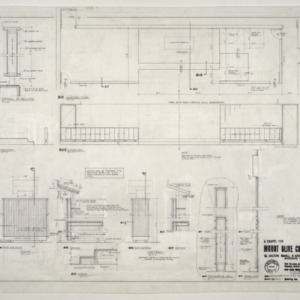 Chapel for Mount Olive College, NC -- Chancel Plan