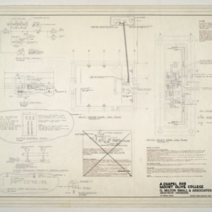 Chapel for Mount Olive College, NC -- Ground Floor HAC Plan