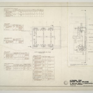 Chapel for Mount Olive College, NC -- Second Floor HAC Plan