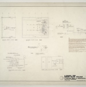 Chapel for Mount Olive College, NC -- Wiring Plans