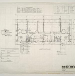 Mount Olive Junior College -- First Floor Plan