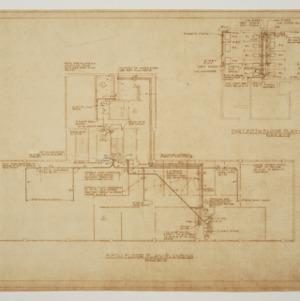 Home Security Life Insurance Building -- Fifth Floor Plan - Plumbing
