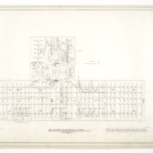 Home Security Life Insurance Building -- 4th Floor Electrical Plan
