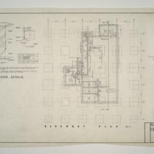 Raleigh Municipal Building -- Basement Plan