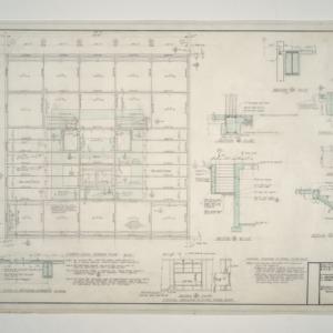 Raleigh Municipal Building -- Fourth Level Framing Plan
