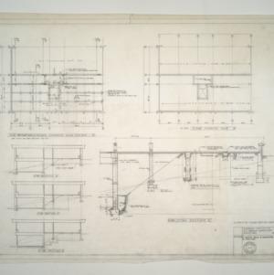 E. C. Brooks Elementary School, Classroom Additions -- Foundation - Alternate Supported Slab System, Floor Framing Plan