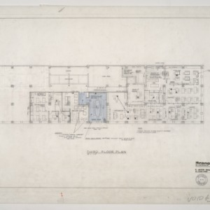 Branch Banking and Trust Company -- Third Floor Plan