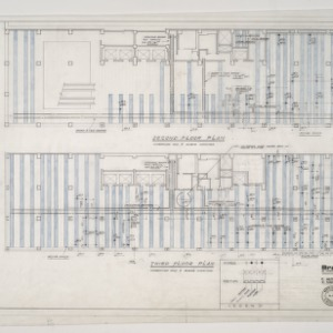 Branch Banking and Trust Company -- Second and Third Floor Plans