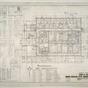 NCSU Forestry School -- First Floor Plan