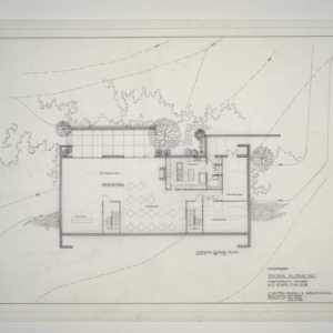 NC State College Fraternity Housing -- Ground Floor Plan - Sigma Alpha Mu House