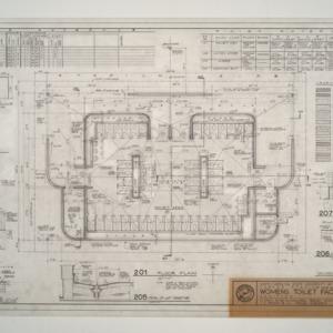 Carter Stadium Women's Toilet Facilities Addition -- Floor Plan