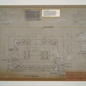 Carter Stadium Women's Toilet Facilities Addition -- Electrical Floor Plan