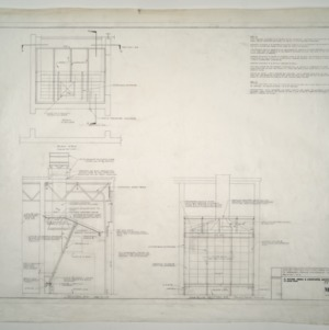 Gregory-Poole Equipment Co. Sales and Service Building Addition -- Air Flow and Duct Plan