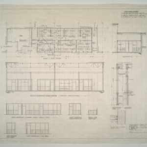 Gregory-Poole Equipment Co. Sales and Service Building Addition -- Shop Office Layout and Alterations
