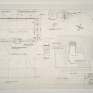 Gregory-Poole Equipment Co. Sales and Service Building Addition -- New Addition Floor Plan