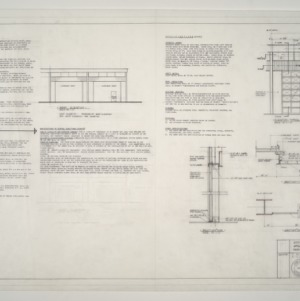 Gregory-Poole Equipment Co. Sales and Service Building Addition -- Overhead Door Specifications