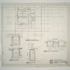 Unigard Insurance Group, Additions and Alterations -- Existing Lower Level Plan