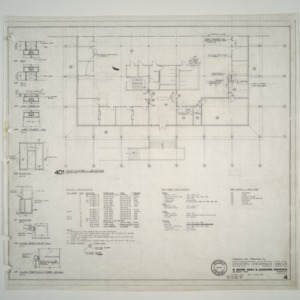 Unigard Insurance Group, Additions and Alterations -- Existing Main Floor Plan