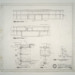 Unigard Insurance Group, Additions and Alterations -- Cross Section, Wall Details
