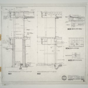 Unigard Insurance Group, Additions and Alterations -- Typical Sections and Elevations