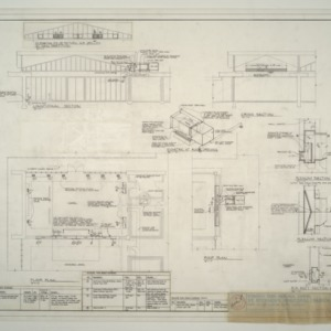 Floor and Roof Plan, Register and Grille Schedule