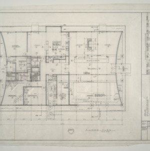 A. L. Rothstein Residence -- Floor Plan