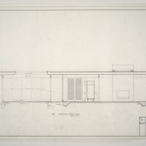 A. L. Rothstein Residence -- Column Details, Window and Skylight Details, Typical Wall Section