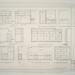 A. L. Rothstein Residence -- Plumbing Plan