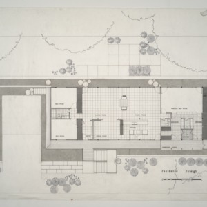 P. L. Rothstein Residence -- House Layout