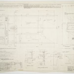 Paul O. Stahl House -- Basement and foundation plan