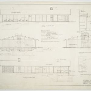 Paul O. Stahl House -- Elevations