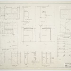 Paul O. Stahl House -- Interior elevations