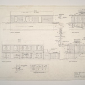 Donald B. and Marian R. Anderson Residence -- Elevations