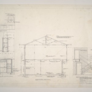 Donald B. and Marian R. Anderson Residence -- Sections
