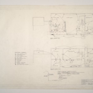 Donald B. and Marian R. Anderson Residence -- Floor Plans