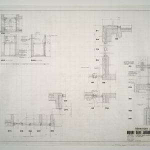 Exterior Wall Details, Traish Room Details
