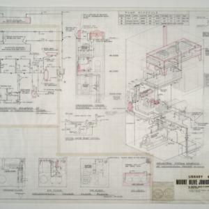 Mount Olive Junior College Library Building -- Pump Schedule, Mechanical Tower Floor Plans