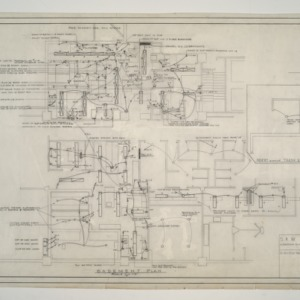 Home Security Life Insurance Building -- Basement Electrical Plan