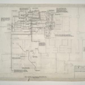 Home Security Life Insurance Building -- Basement Mechanical Plan