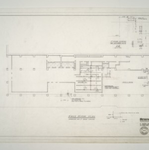 Branch Banking and Trust Co. Building -- First Floor Plan