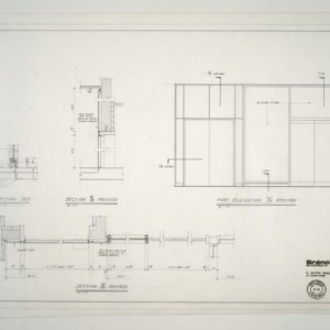 Branch Banking and Trust Co. Building -- Revisions - Sections and Part Elevation