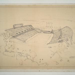 Carter Stadium -- Aerial Perspective