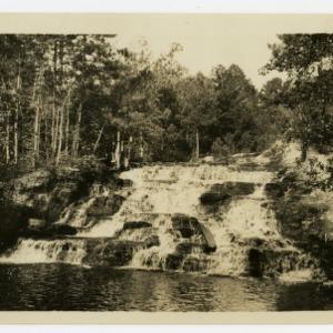 Waterfall near Pinehurst, North Carolina