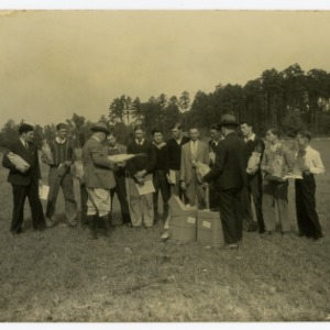 4-H Black Walnut Club, Rockwell High School, Rowan County, North Carolina :: Photographs