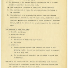 """Farm Shop Work"" lecture notes, 1925"