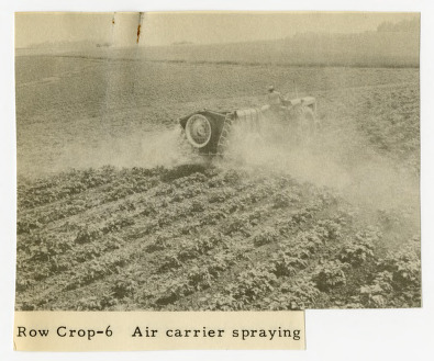 Pesticide Control Research (3 of 3) :: Dusting and Spraying